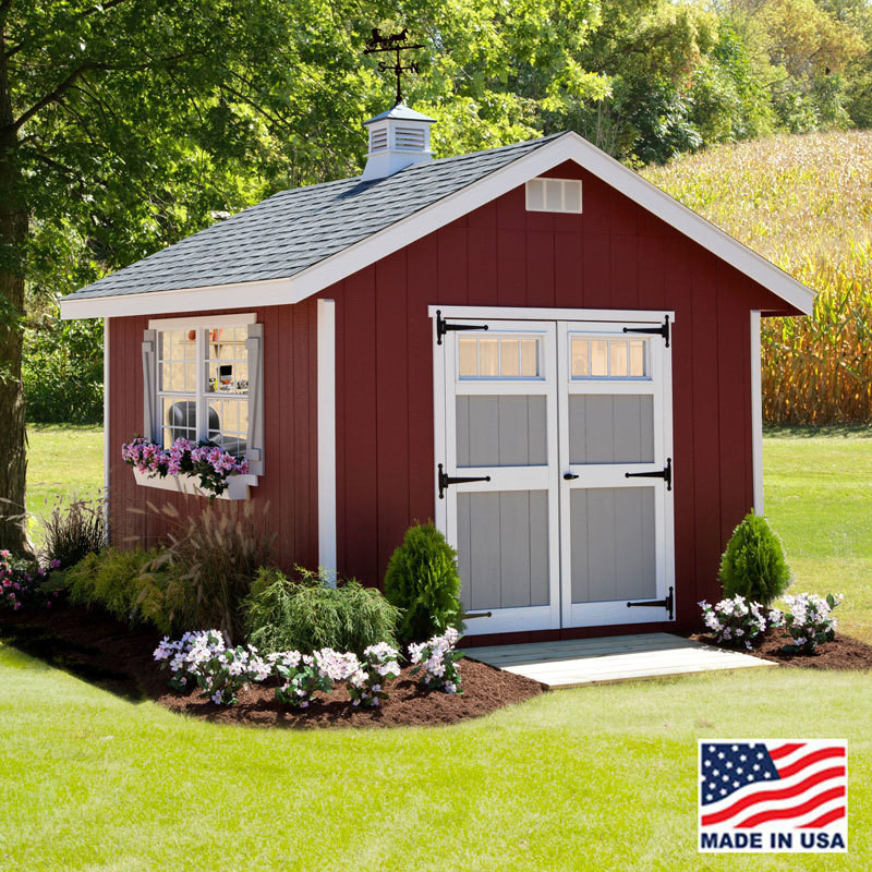 quality built 10 x 12 homestead shed kit ez fit sheds in ohio