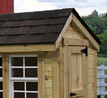 Chicken Coop - 4' x 6' made by EZ Fit Sheds in Ohio has 3 Tab Shingles