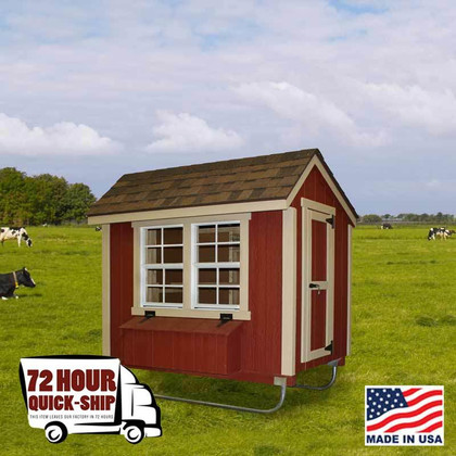 Chicken Coop - 4' x 6'  made by EZ Fit Sheds in Winesburg Ohio