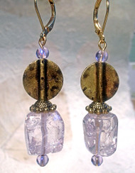 An Uncommon Quartz — Earrings