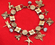 Za Za Zou Birds & Bees & Bugs: Insects Charm Bracelet