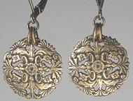 Detailed Domed Filigree Earrings