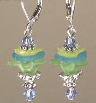 Spring Beauty Petal Play Earrings