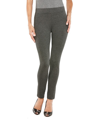 Grey Seamed Legging