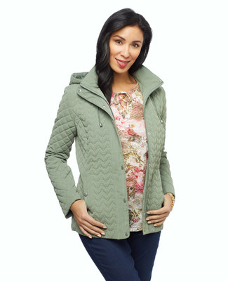 Women's moss green jacket
