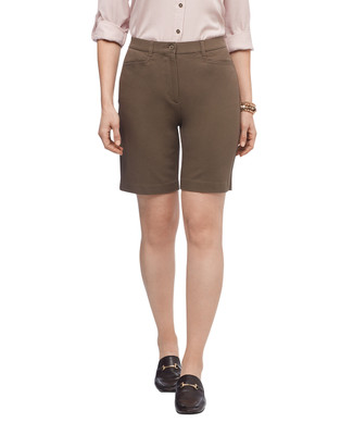 Women's cotton stretch shorts