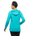 Women's activewear lace up hoodie