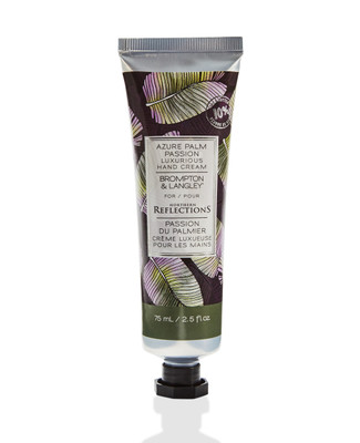 Brompton and langley azure palm passion hand cream