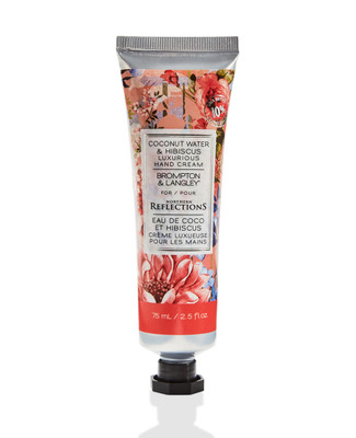 Brompton and langley coconut water hibiscious hand cream