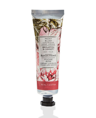 Brompton and langley peony blush hand cream