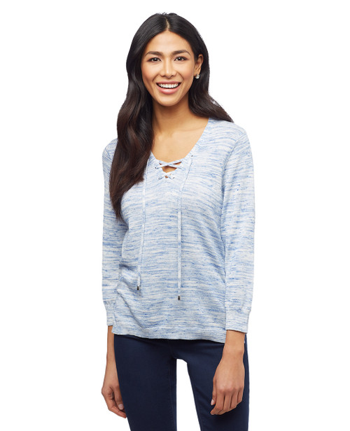 Women's knitted spring sweater