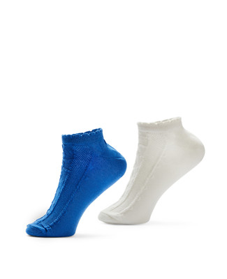 Women's textured ankle socks