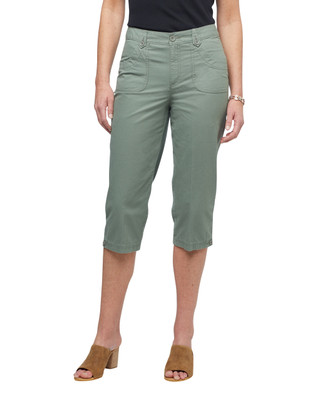 Women's ripstop capri pants.
