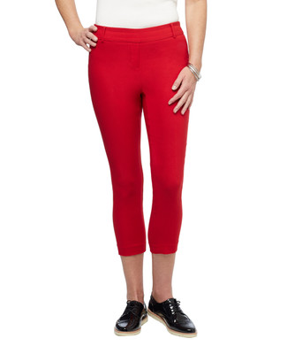 Women's cropped slim stretch pull on RNS skimmer