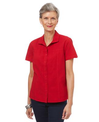 Garment Dye Short Sleeve Shirt