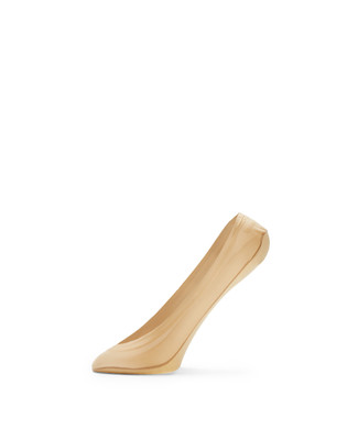 2 Pack Nude No Show Socks