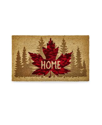 Canada door mat with maple leaf design