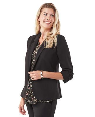 Women's classic black jacket