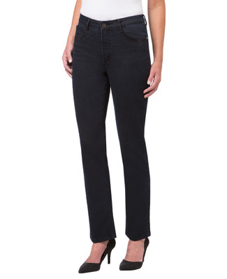 Women's high waisted slim jeans with sparkle