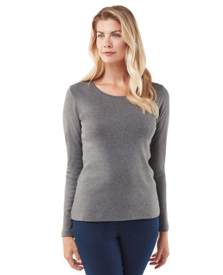 Women's cotton long sleeve t-shirt