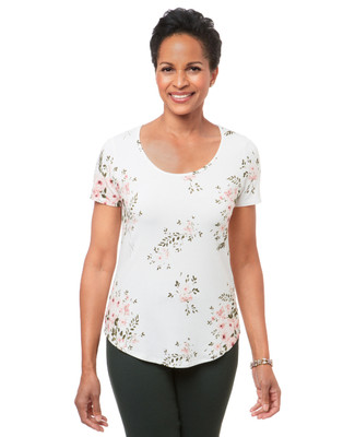 Women's floral printed top