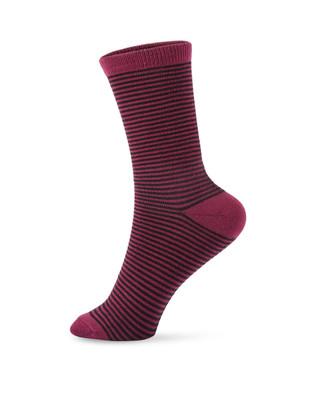 Women's ultra soft striped socks