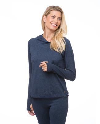 Women's long sleeve active hoodie