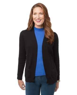 Women's edge to edge classic cardigan