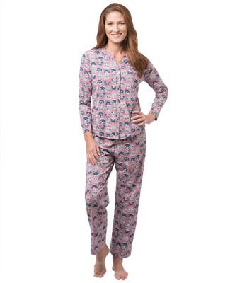 NEW - Cool Cats Patterned Pyjama Set