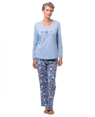 Women's donut print pyjama set