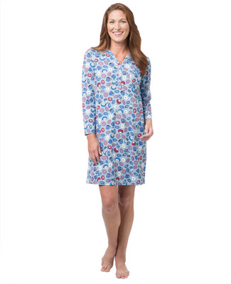 Women's donut print nightshirt