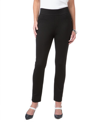 Women's black comfort leggings