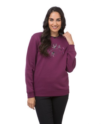 NEW -  Paisley Flowers Sweatshirt