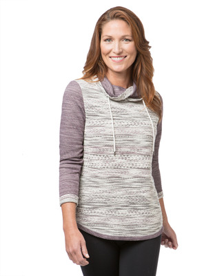NEW - Crossover Cowl Neck Pullover