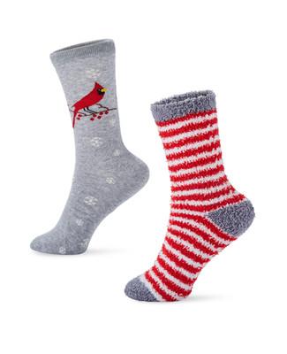 Women's winter wear 2 pack socks