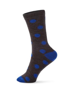 Women's charcoal boot socks