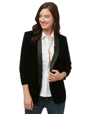 Women's classic black blazer