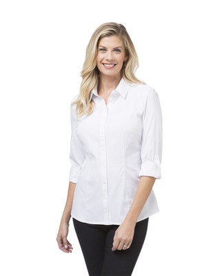 Women's long sleeve button down top