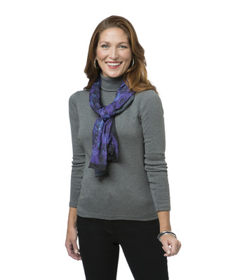 Women's classic patterned scarf