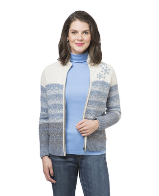 Women's petite winter cardigan