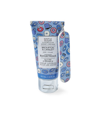 Maple sugar scented hand cream with nail file