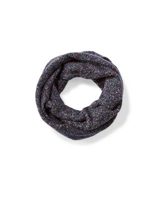 Women's nep yarn infinity scarf