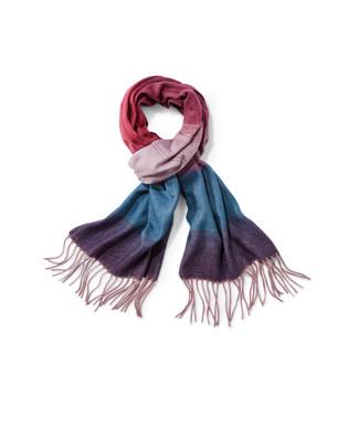 Women's ombre cashmink scarf
