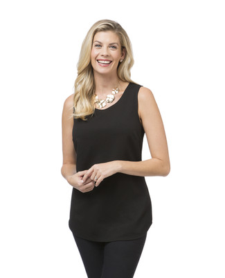 Women's black camisole top