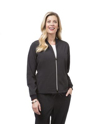 Women's black travel jacket