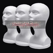 Styrofoam head 3 pack