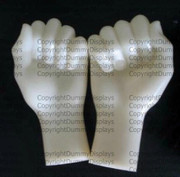 Retail fitting hand model display x2 pieces