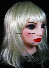 Realistic female rubber mask TANJA