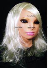 Realistic female rubber display mask SOPHIA PINK
