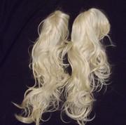 Bulk ex display wigs blonde x 2